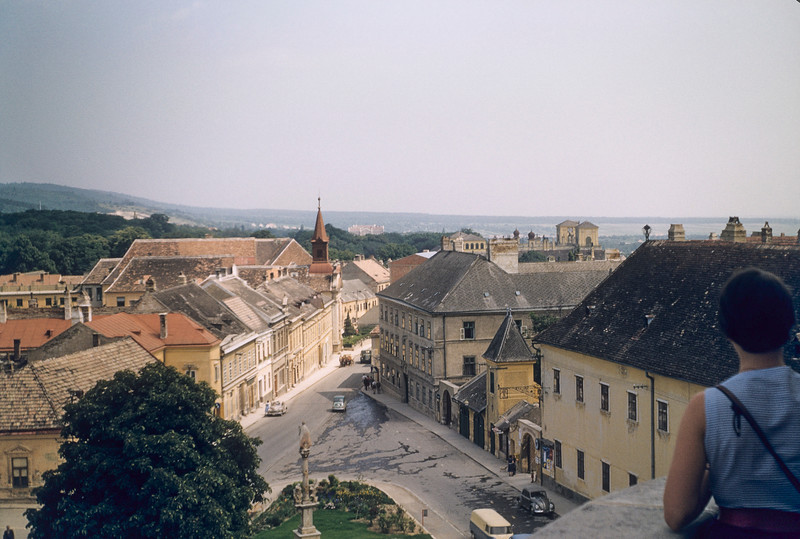 View of Eisenstadt from the Kalvarienberg.