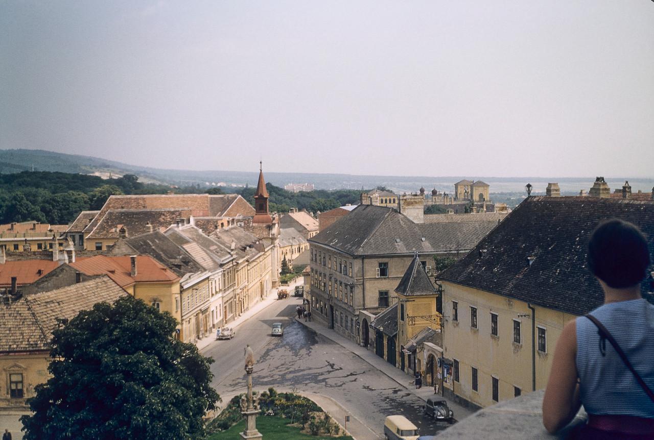 View of Eisenstadt from the Kalvarienberg.