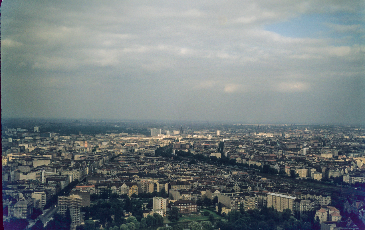 Berlin from the restaurant atop the Radio Tower