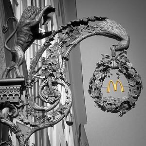 """""""Golden Arches,"""" Salzburg style"""