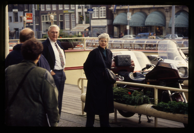 Bill and Ella Dresher, Amsterdam - 1994