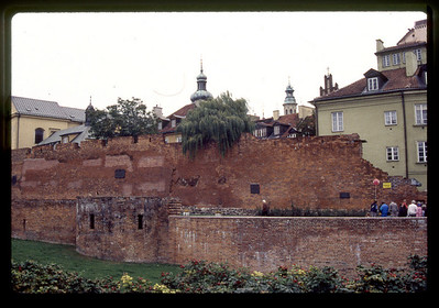 Warsaw city wall