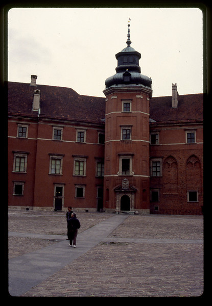 Palace in Warsaw