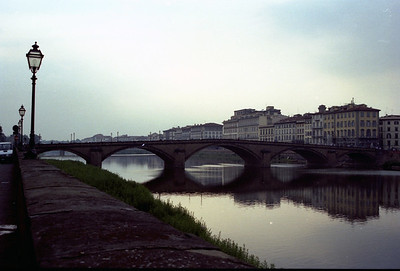 Bridge over the Arno River in Firenze