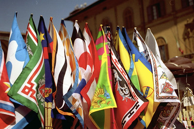 Sienese flags