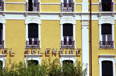 The splendid Hotel Splendide
