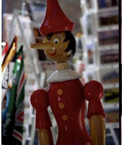 Pinocchio in San Gimignano