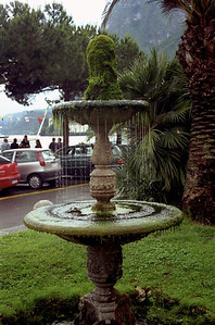 Fountain in Menaggio on Lake Como