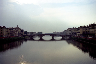 The river Arno in Firenze