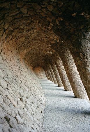 Gaudi Colonnade