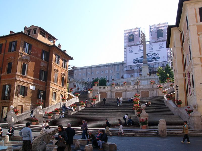 Spanish Steps - early morning
