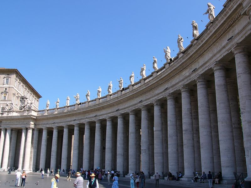 At St. Peter's in the Vatican
