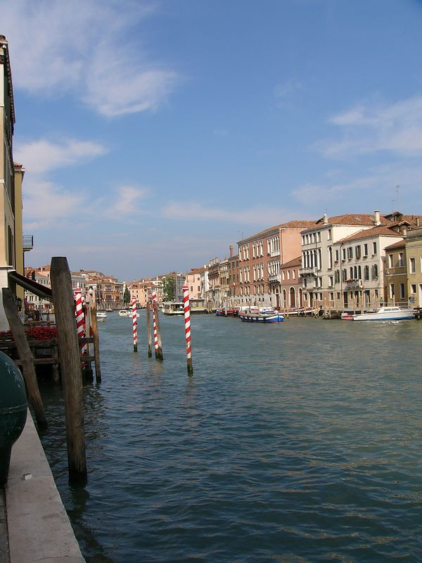 On the Grand Canal near Santa Lucia train station
