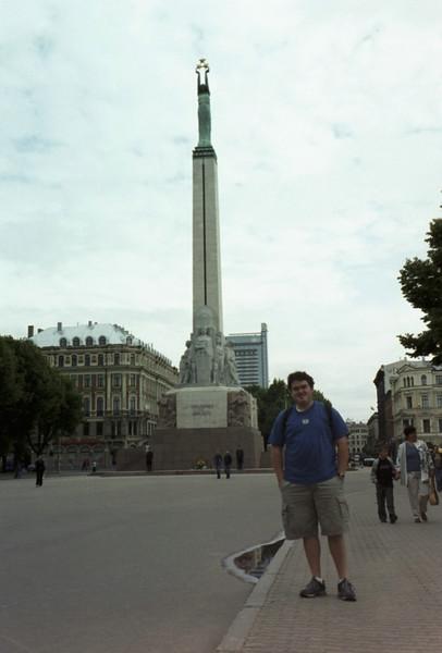 Monument in Riga.