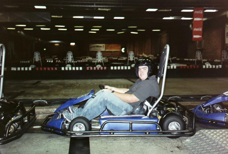 My first of many stints racing karts.  Malmo