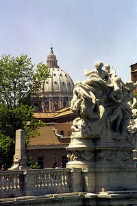 Vatican from Bridge