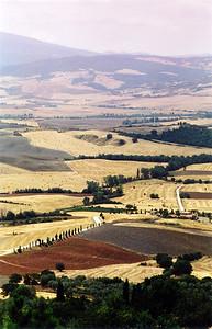 Tuscany from Pienza 2