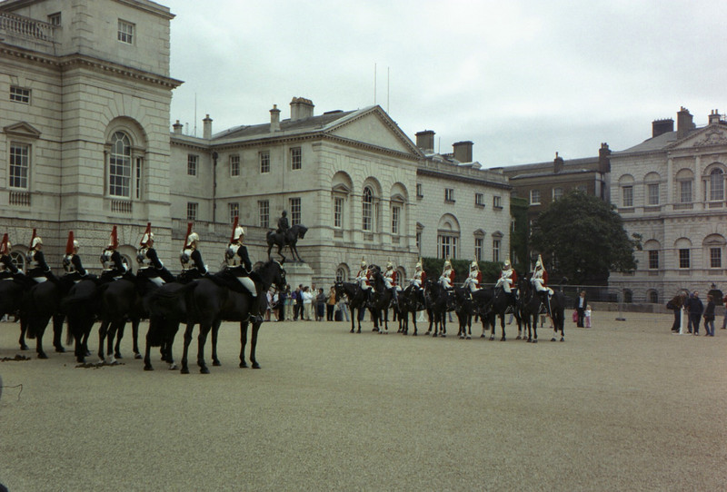 The start of the changing of the guard.