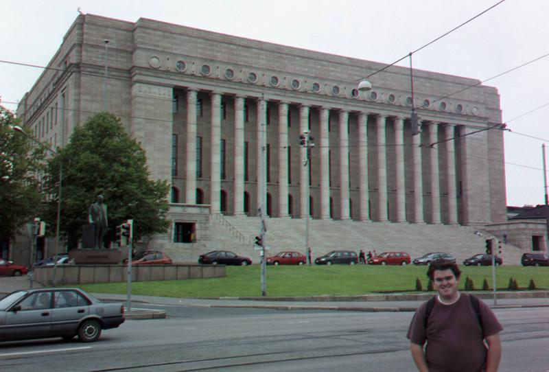 Parliament building, Helsinki.