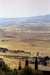 Tuscany from Pienza