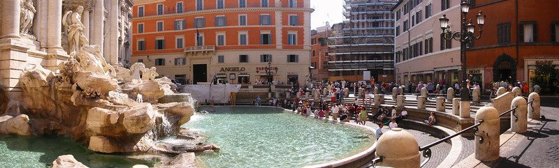 Trevi Fountain Panorama