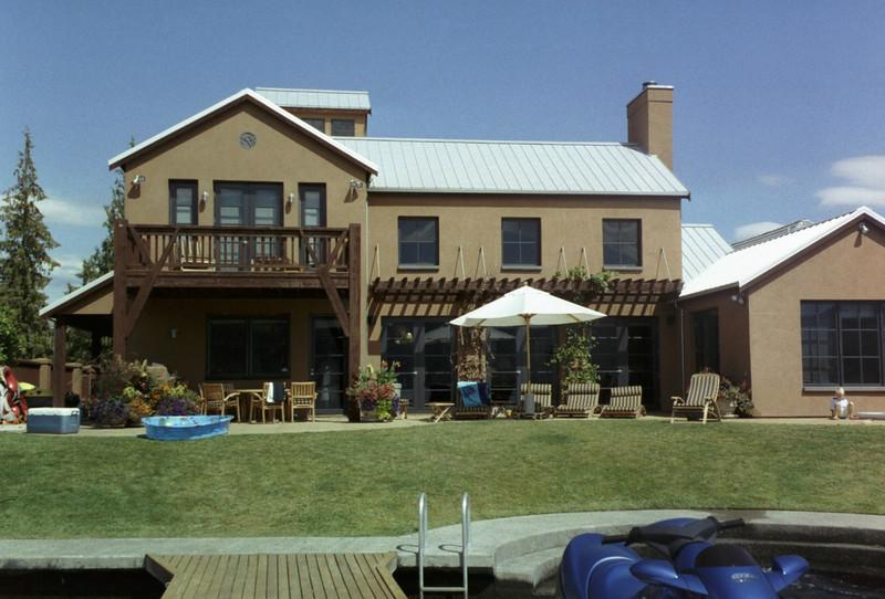 The Chelan house.