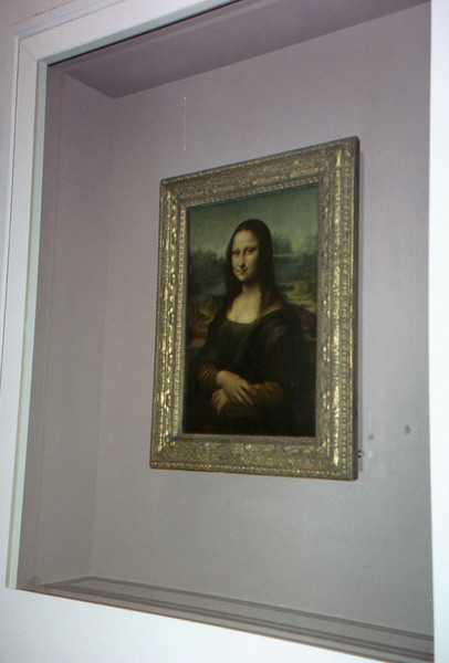 The Mona Lisa.  (Only one picture?)