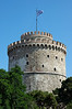 The White Tower in Thessaloniki, built by the Venetians and used as a prison by the Turks