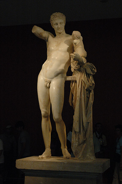 Hermes with the Infant Dionysos