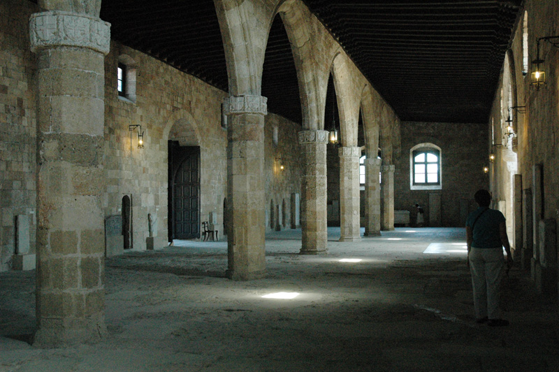 Hospital of Knights, now an archeological museum.