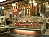 Butcher's stall, market, Hania, Crete