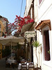 Many Hania tavernas have tables in the street