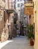 Typical side street Hania, Crete