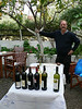 Our tour guide, David, ready for a wine and olive oil tasting