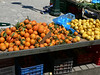 It was market day - even in April, oranges and lemons were ready