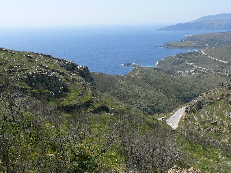 The Mani coastline
