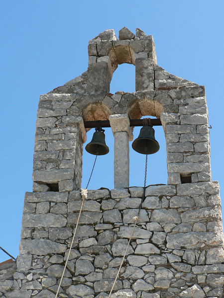 The bells look to be in good shape, not sure about the belfry!