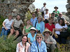 Not all the group made it up Monemvasia, we were tired but happy