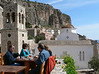 A place to rest, before or after hiking up Monemvasia