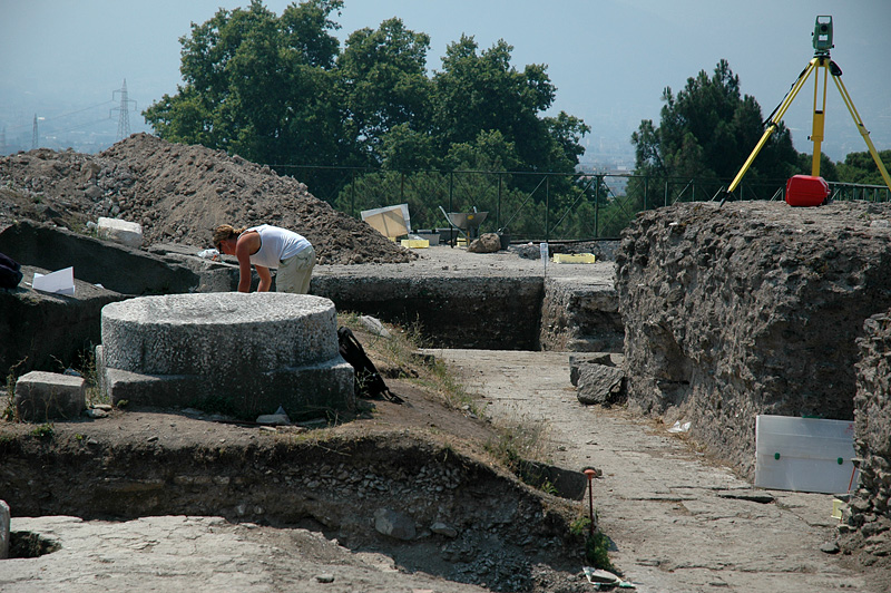 Archeologists are still busy at Pompeii.