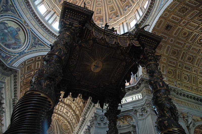 Bernini's canopy