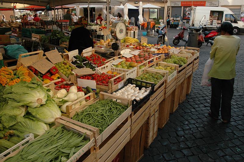 Campo de'Fiori market