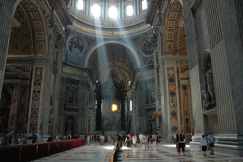 St. Peters.  Wow!  Those letters below the windows are 6 foot 2 inches tall, it's 5.7 acres and has a capacity over 60,000.
