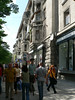 Street in downtown Chisinau, Moldova's capital