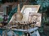 Outdoor souvenir stall, chisinau