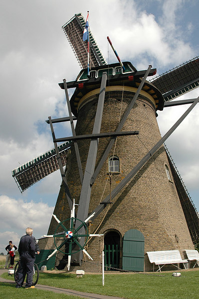 This is how a windmill is steered.