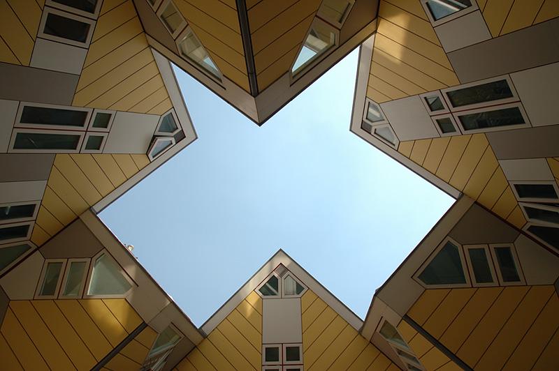 Kubuswoning (Cubic Houses) of Rotterdam