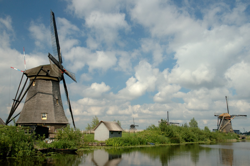 Windmills of the Kinderdijk