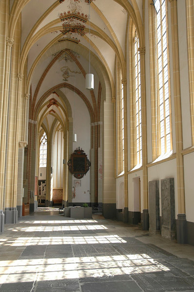 Interior of Walburgskerk