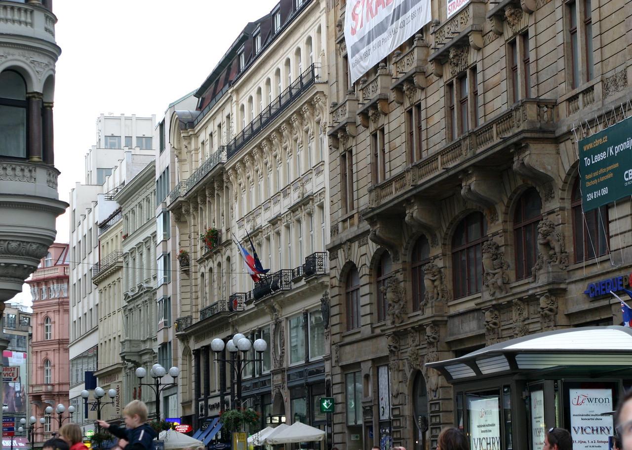 Vaclavske Namesti (Wenceslas Square)